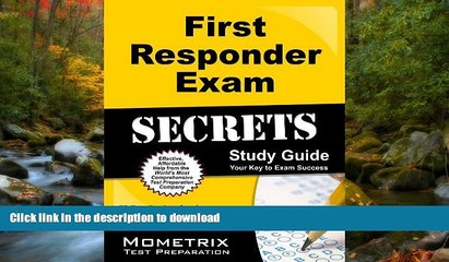 read first responder exam secrets study guide fr test review for the first responder exam on book