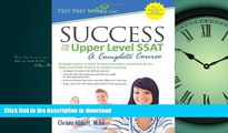 Hardcover Success on the Upper Level SSAT- A Complete Course Kindle eBooks