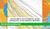 Pre Order Nature s Patterns and Designs Coloring Books: Even More Rocks (S M Coloring and Shading