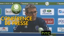 Conférence de presse ESTAC Troyes - AJ Auxerre (1-1) : Jean-Louis GARCIA (ESTAC) - Cédric DAURY (AJA) - 2016/2017