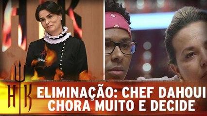 Eliminação: Chef Dahoui chora muito e dá sua decisão