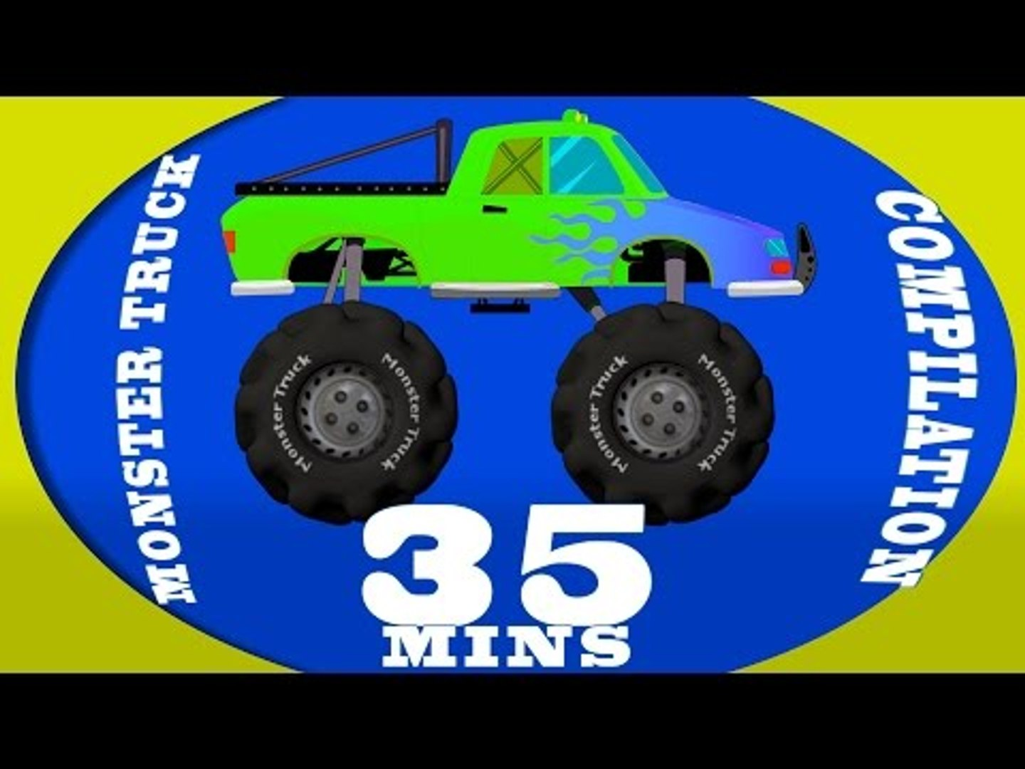Monster Truck Compilation Videos For Kids Video Dailymotion