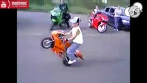 Best Funny Motorcycle Fail & Win Compilation -2016 - Wheelies Fails & Wins ★