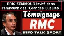 ÉRIC ZEMMOUR au Grand Oral des Grandes Gueules nov 2016