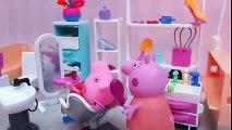 juegos didacticos para niños Peppa Pig Hace el Corto de Pelo en la Peluquería de Mama Pig