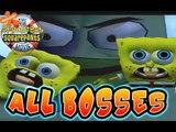 The SpongeBob SquarePants Movie All Bosses | Boss Battles (PS2, Gamecube, XBOX)
