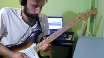 Guitar solo/improvisation in the style of fusion, pop rock