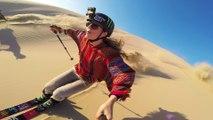 Faire du Ski dans les dunes de sables !