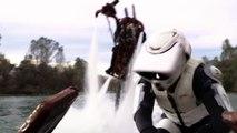 Bataille de Speeder Star Wars en vrai !! Retour du Jedi !