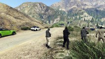 Grand Theft Auto V biker crash funny