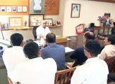 Gujarat Dy CM Nitin Patel talks on meeting with Patidar convenors in Gandhinagar
