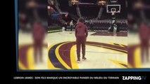 Lebron James : Son fils marque un incroyable panier du milieu de terrain à seulement 12 ans (vidéo)