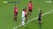 Rami Bensebaini Carton rouge - Lyon vs Rennes
