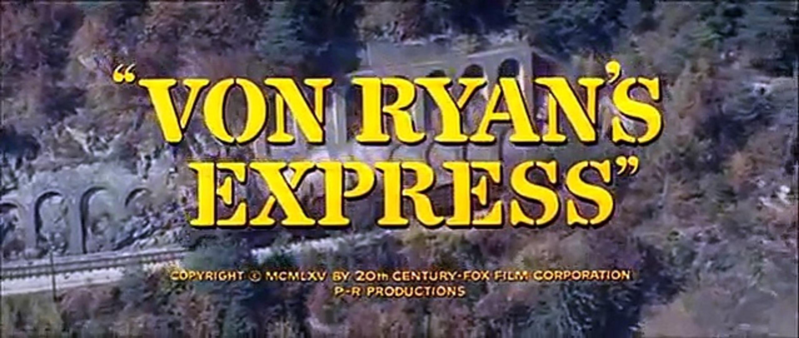 Von Ryan's Express Trailer