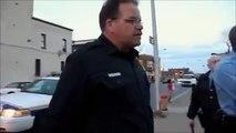 Ce policier ressemble à Matt Damon... Gros !!