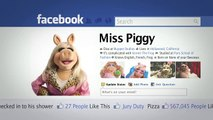 Video Miss Piggy  The Muppets On Facebook   The Muppets Fan-A-Thon   The Muppets