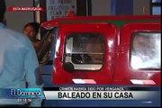 Mototaxista es asesinado a balazos en la puerta de su casa en SJL