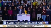 Emmanuel Macron se lâche lors de son grand meeting