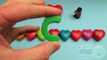 Disney Cars Surprise Egg Learn-A-Word! Spelling Valentines Words! Lesson 6