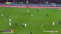 Edinson Cavani Goal ~ PSG 1-2 Nice ~ 11/12/2016 [HD]