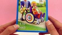 Playmobil : lenfant dans le fauteuil roulant - la fille avec la jambe cassée en fauteuil roulant