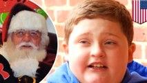 Santa Claus menghina anak laki-laki gendut - Tomonews