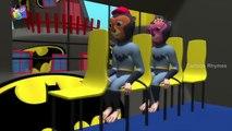 Batman Singing Wheels On The Bus Song | Wheels On The Bus | Dancing Batman | Batman | Cartoon Rhymes