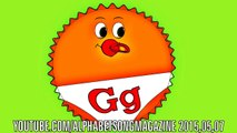 Alphabet Song with Big and Small Letter G to teach and learn ABCs