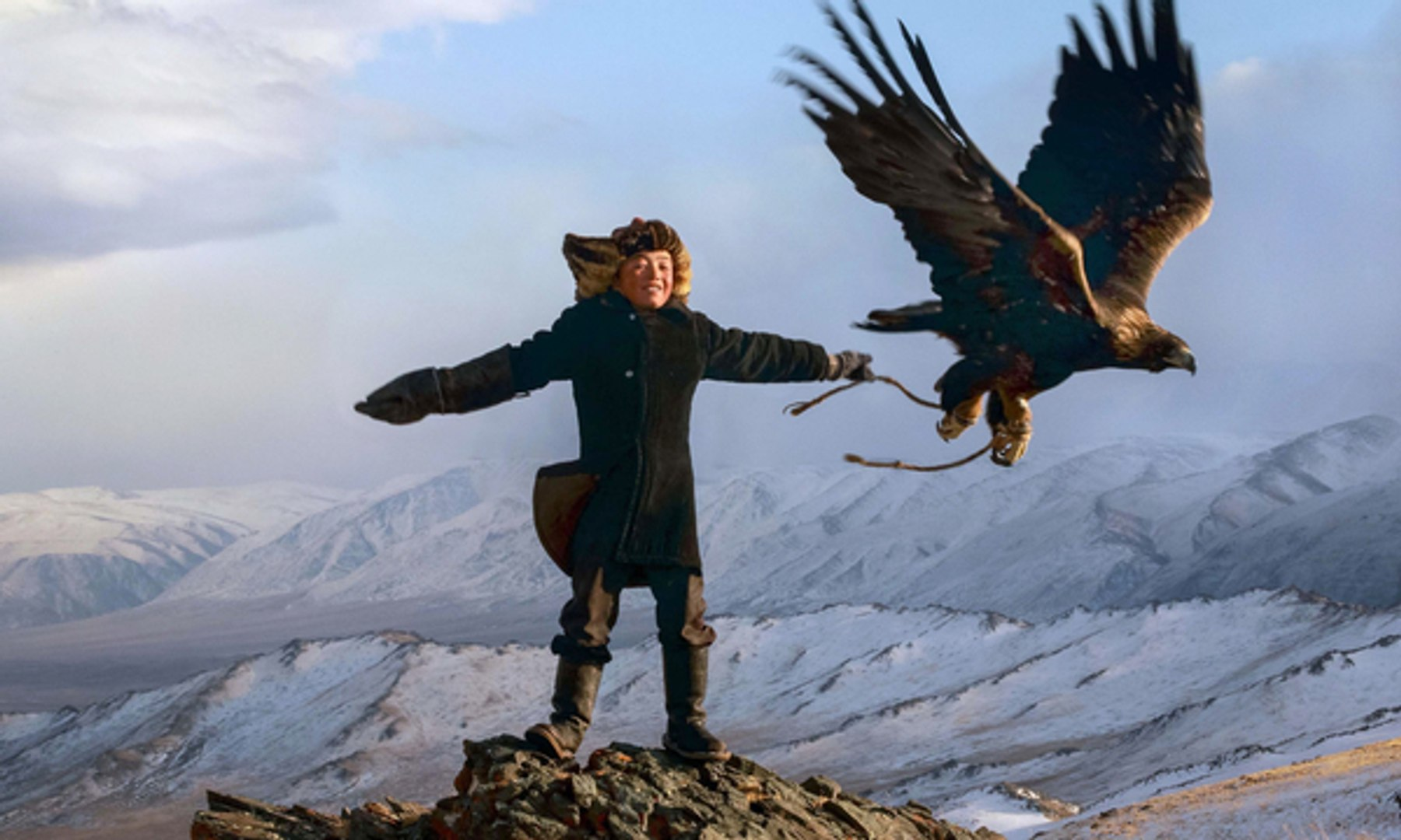 The Eagle Huntress trailer: a soaring tale of success against the odds – video