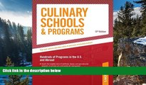 Online Peterson s Culinary Schools   Programs: Hundred of Programs in the U.S and Abroad (Peterson