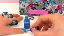 monster high nails- Monster High Nail Polish - Cool Nail Art!