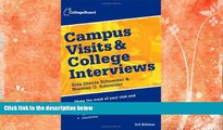 Buy  Campus Visits and College Interviews (College Board Campus Visits   College Interviews) The
