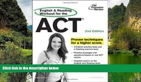 Online Princeton Review English and Reading Workout for the ACT, 2nd Edition (College Test