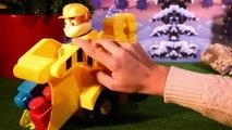 PAW PATROL ☆ Cadeaux de Noël ☆ Ruben et sa tractopelle géante