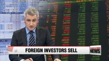 Foreign investors offload Korean bonds and stocks in November