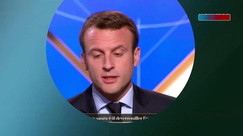 """Émission Vie politique : le lapsus d'Emmanuel Macron """"Quand j'étais président de la ..."""""""