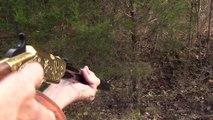 Coupez votre sapin de Noël au fusil comme cet américain !