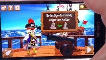 Faire couler les bateaux avec lappli Kaboom Playmobil français – Canon noir et Appli Pirates - Démo