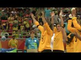 Day 1 morning   Goalball highlights   RIo 2016 Paralympic Games