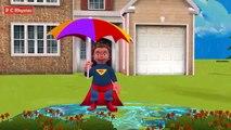 Little Superman Rain Rain Go Away Rhyme 3d Animated Cartoon Rhyme Nursery Rhyme for Babies.