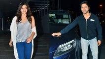 Varun Dhawan & Alia Bhatt SPOTTED With Karan Johar At Dinner  Badrinath Ki Dulhania  Wrap Up