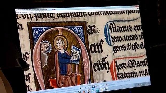 Les manuscrits du Mont-Saint-Michel bientôt accessibles à tous sur internet