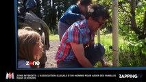 Zone Interdite : Un homme loue illégalement son terrain pour venir en aide aux familles dans le besoin (Vidéo)