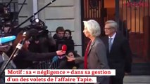 Affaire Tapie : Christine Lagarde face aux juges