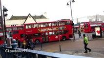 Buses in Romford, Essex December 2016