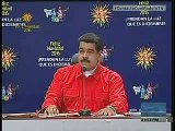 """Maduro: """"Gerentes de Credicard van a ser castigados severamente"""""""