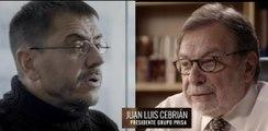 Salvados: Una hora con Cebrián (El País, Prisa). Régimen de España, 11 de diciembre, 2016