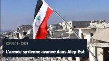 L'armée syrienne continue d'avancer dans Alep-Est