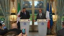 """Syrie : François Hollande dénonce la """"répétition de massacres à Alep"""""""