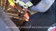Repairing $30 000 Damaged GIANT Tire - Extreme Tire Repair Kit by REMA TIP TOP
